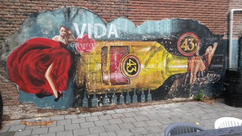 10. buitengevel muurschildering