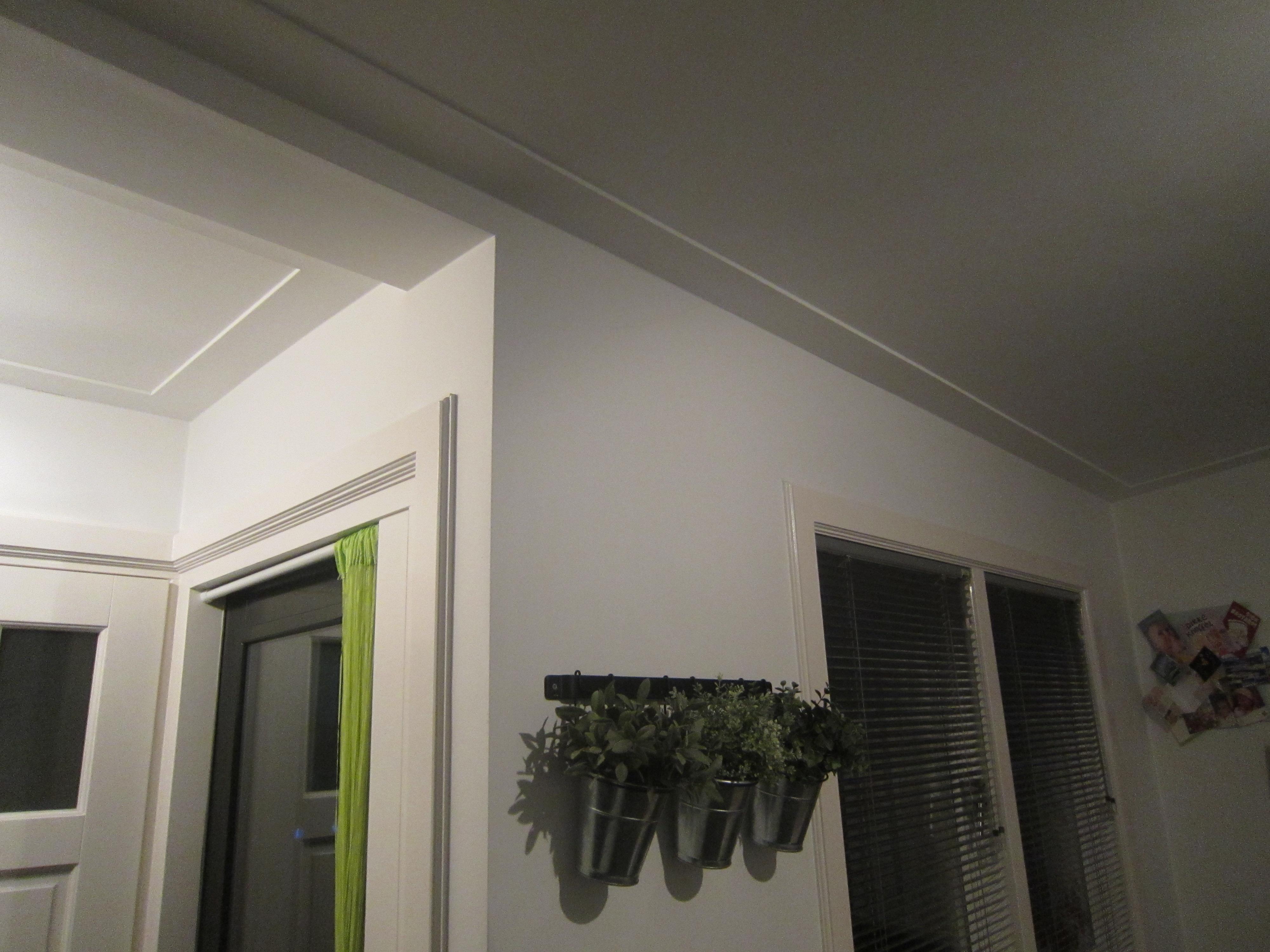 8. platte plafond plint
